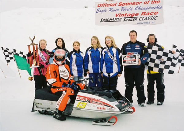 Mike Jones and Team Winning Eagle River World Championship 2008